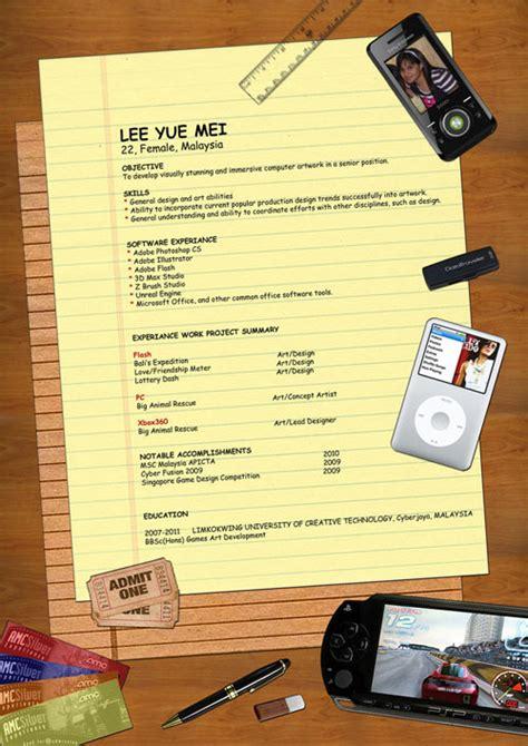 contoh layout portfolio 30 creative resume cv designs for inspiration designmodo