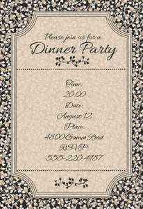 invitation to dinner template dinner invitation template plumegiant