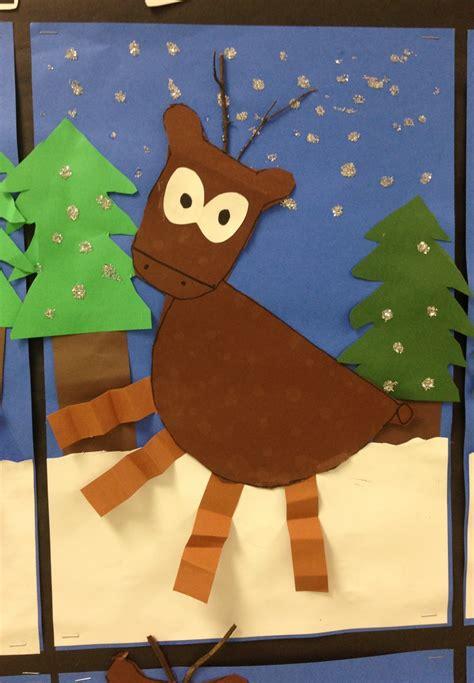 apex elementary art  deer
