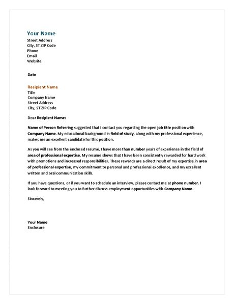 Formal Credit Program Formal Business Letter Office Templates
