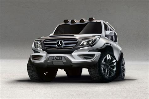 future mercedes g class ares design releases rendering of future mercedes g