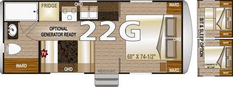 arctic fox 5th wheel floor plans northwood arctic fox 22g