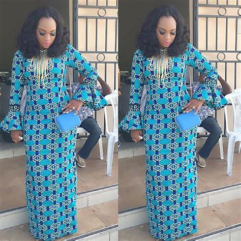 styles for nigeria long wevon style creative ankara long gown style
