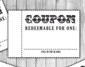 diy voucher template coupon template etsy