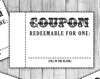 black and white printable love coupons coupon book coupon template love coupon date night coupon