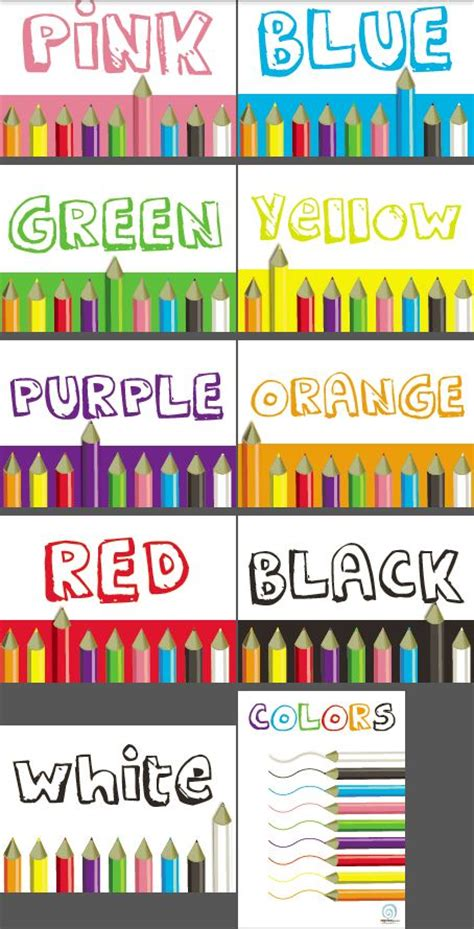 color posters colors classroom poster series edgalaxy cool stuff for