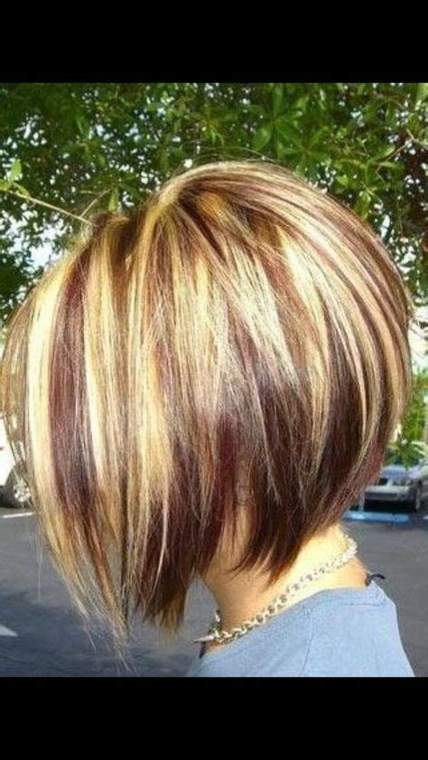 pictures of stacked angled bobon older woman 287 best images about haircuts on pinterest bobs short