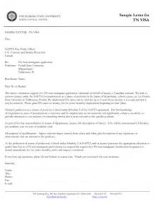 Support Letter For Work Visa Application Exles Of Supporting Letters For Applications