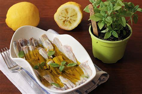 cucina italiana antipasti alici marinate come fare l antipasto freddo della cucina