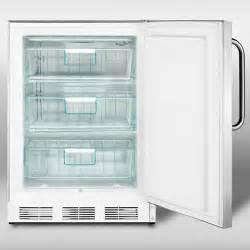 steel counter freezers compact freezers
