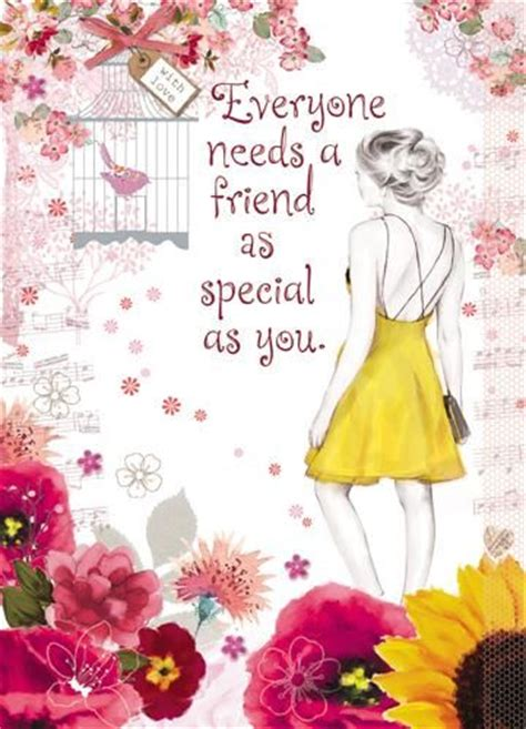 for a very special friend greeting card everyday friend special friend birthday card karenza paperie