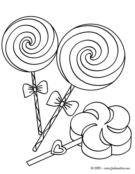 swirly lollipop coloring pages coloring pages