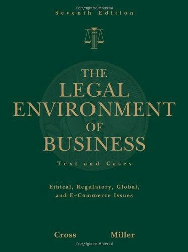 the environment of business text and cases isbn 9780324590005 the environment of business