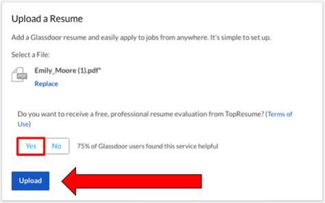 the free easy way to your resume glassdoor