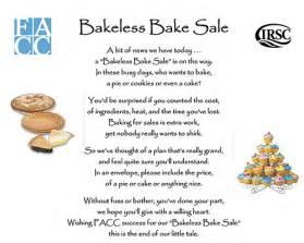 Bakeless bake sale examples success