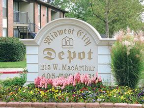 midwest city depot apartments oklahoma city ok