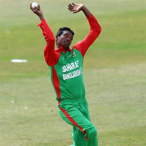 after saeed ajmal bangladesh paceman al amin hossain