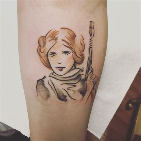 princess leia tattoos princess leia