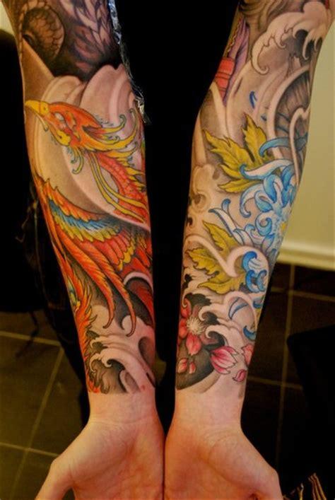 tattoo phoenix gallery phoenix tattoo sleeve on pinterest rising phoenix tattoo