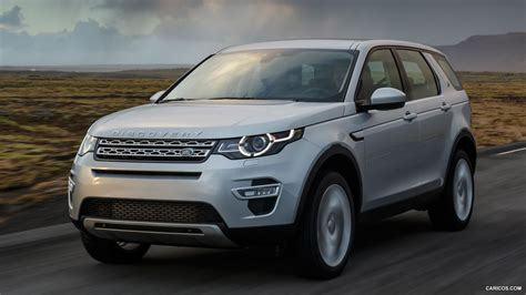 silver range rover 2015 2015 land rover discovery sport indus silver front