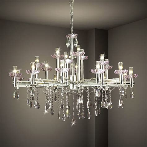 Glass Chandeliers For Dining Room Hanging Modern Chandelier Lighting With Stainless Steel Candle Stand And Frame Ideas
