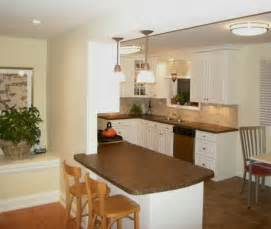 Small Kitchen Design With Peninsula by Kitchen Peninsula Ideas Captainwalt Com