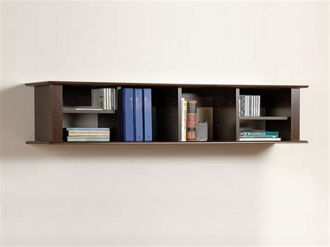 Small Wall Mounted Bookcase Decorative Stroovi Wall Mount Book Shelves