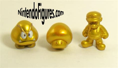 Bros Gold 3 micro land new mario bros 2 1 3 figure packs review