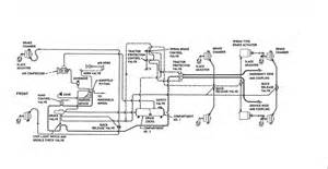 Mack Air Brake System Schematic B 75 Air Controls Air Systems And Brakes Bigmacktrucks