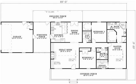 country style house plans  square foot home  story