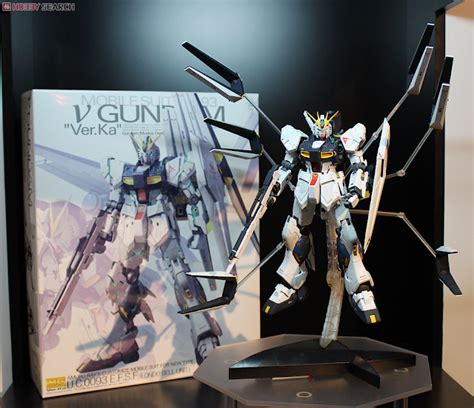wallpaper nu gundam gundam guy mg 1 100 rx 93 nu gundam ver ka on display