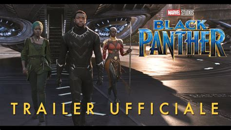film marvel ita black panther trailer ufficiale italiano hd youtube