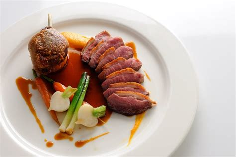 vegetables 40 great chefs pan roasted duck recipe great chefs
