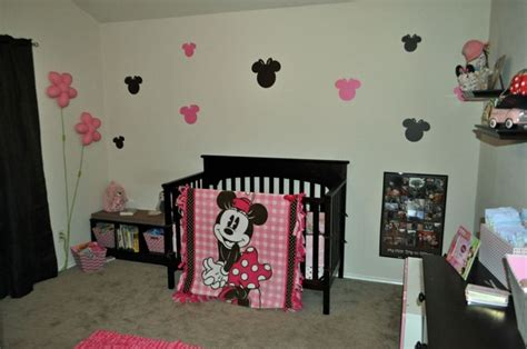 How To Get Mouse Out Of Room by Our Big S Room Brown And Pink Minnie Mouse I Used