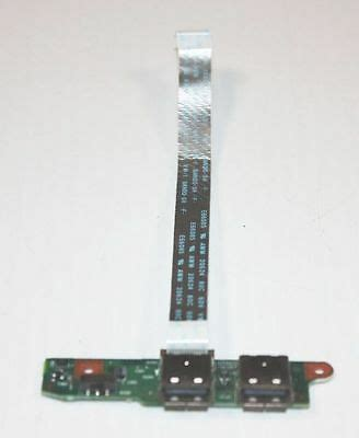 toshiba laptop tecra a6 dual usb port board with cable