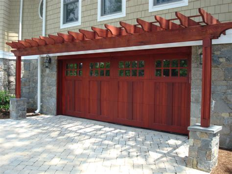 Garage Door Arbor by Wood Garage Doors And Carriage Doors Garage Doors And Openers Dc Metro By Clingerman Doors