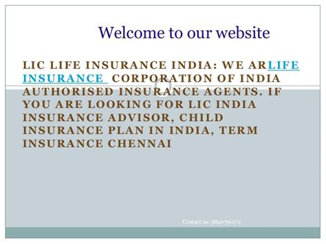 Insurance Mba In India by Lic India Insurance Advisor Child Insurance Plan In India