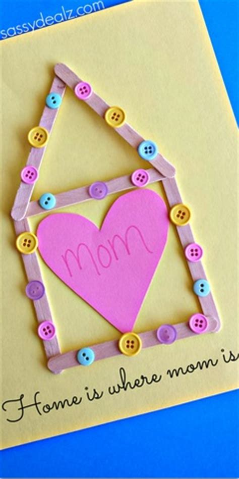 quot home is where is quot popsicle stick s day craft