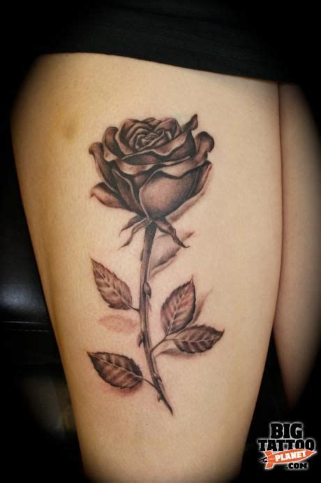 rose and stem tattoo best 25 purple tattoos ideas on purple