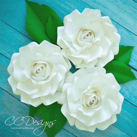 gardenia paper flower tutorial diy paper flower alora garden rose tutorial tutorial video