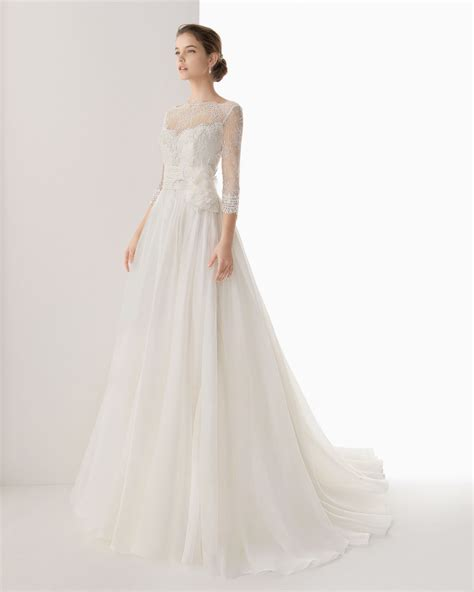 Wedding Dresses With Sleeves by Dressybridal Wedding Dresses With Lace Sleeves And