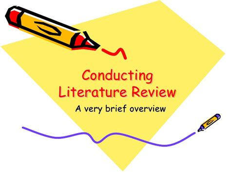 Project Brief Literature Review by Literature Review