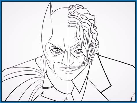 imagenes del guason para dibujar faciles original cara de batman para colorear imagenes de batman