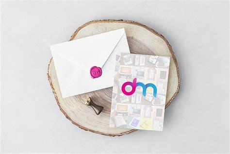 Wedding Invitation Mockup Psd by Invitation Card And Envelope Mockup Psd