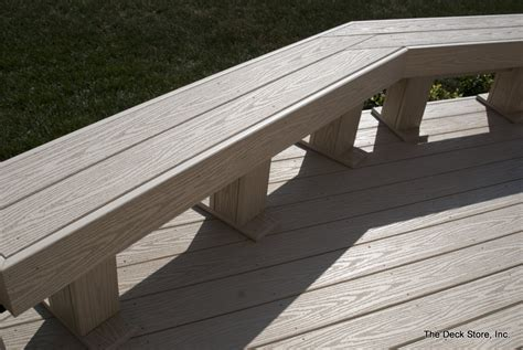composite outdoor benches composite deck bench ideas benches
