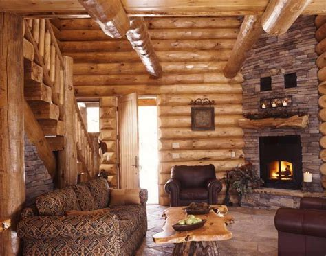 log home interior koshersamurai