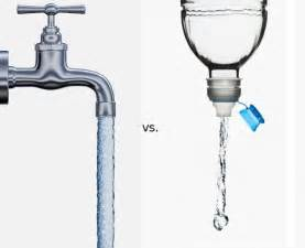 bottled water vs tap water what s better for