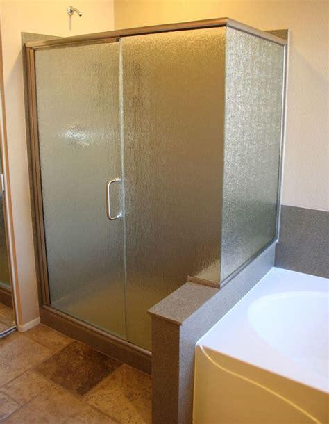 Semi Frameless Shower Door Semi Frameless Glass Convertabath 174