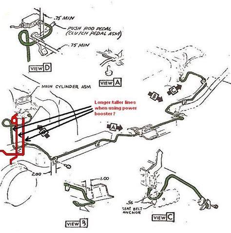 schematics  chevy  brake system    find  schematic  replace  struts