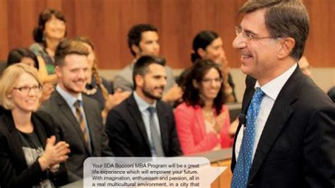 Master Mba Bocconi by Sda Bocconi 1 Year Time Mba For Who Just Won